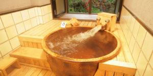 源泉掛け流し100% 内風呂